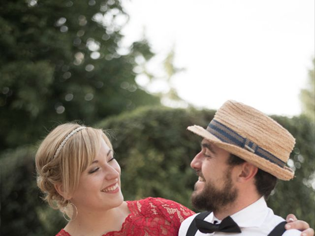 Le mariage de Thierry et Aurélie à Mezel, Puy-de-Dôme 36