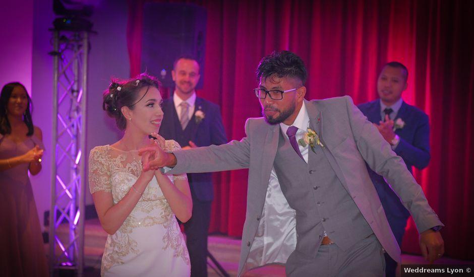 Le mariage de Roche-thynn et Lucie à Vonnas, Ain