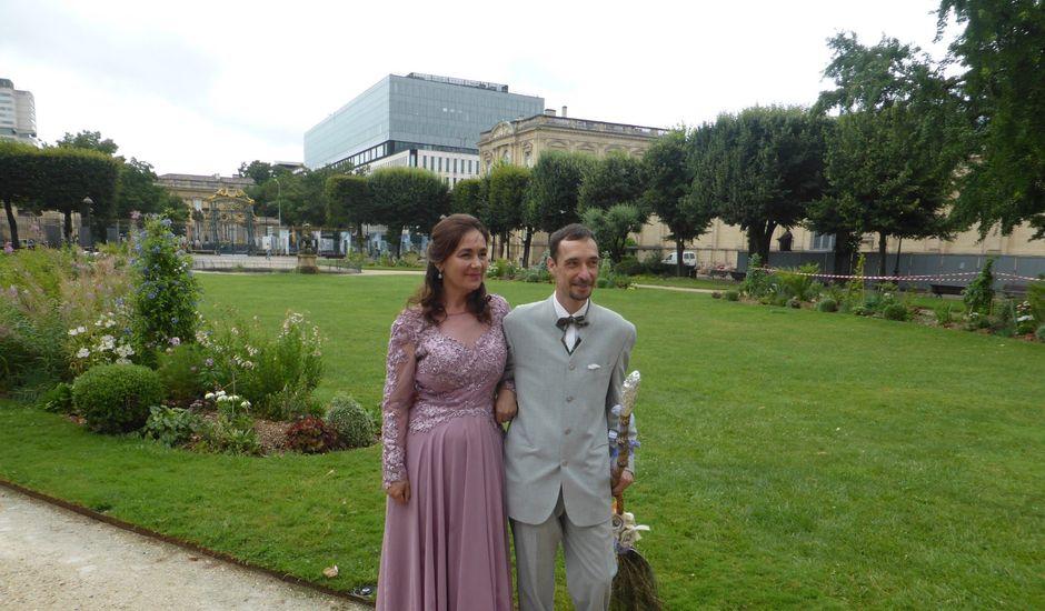 Le mariage de Christophe et Maria-Cristina à Bordeaux, Gironde