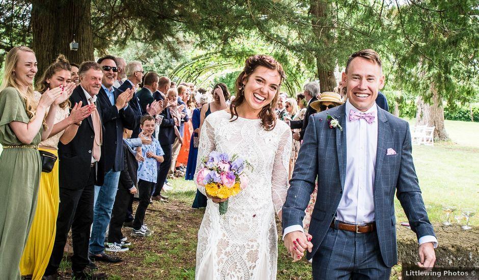 Le mariage de Dan et Nora à Montréal, Gers