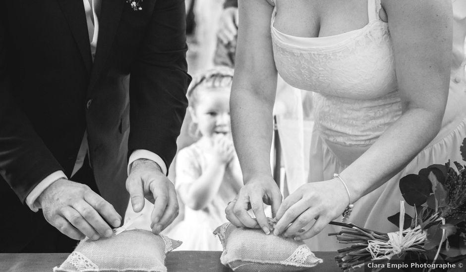 Le mariage de Robin et Marine à Le Mesnil, Manche
