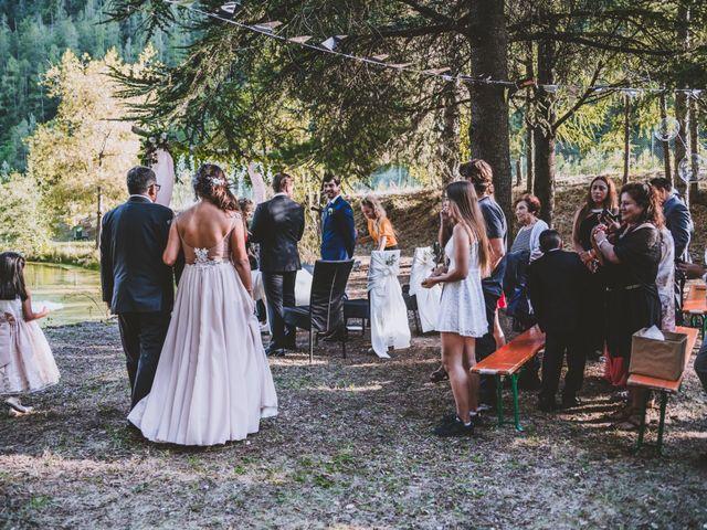 Le mariage de William et Valeria à Isola, Alpes-Maritimes 5