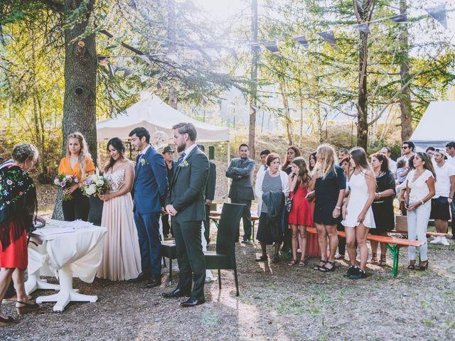 Le mariage de William et Valeria à Isola, Alpes-Maritimes 9