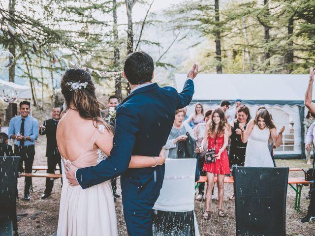 Le mariage de William et Valeria à Isola, Alpes-Maritimes 35