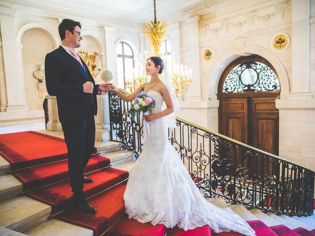 Le mariage de Michel et Qiao