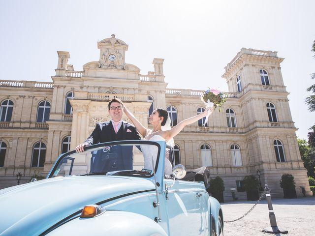 Le mariage de Qiao et Michel à Ferrières-en-Brie, Seine-et-Marne 7