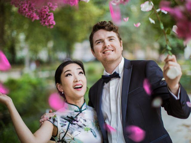 Le mariage de Qiao et Michel à Ferrières-en-Brie, Seine-et-Marne 1