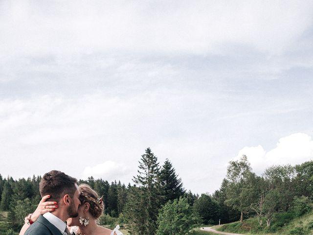 Le mariage de Antoine et Margaux à Cornimont, Vosges 3