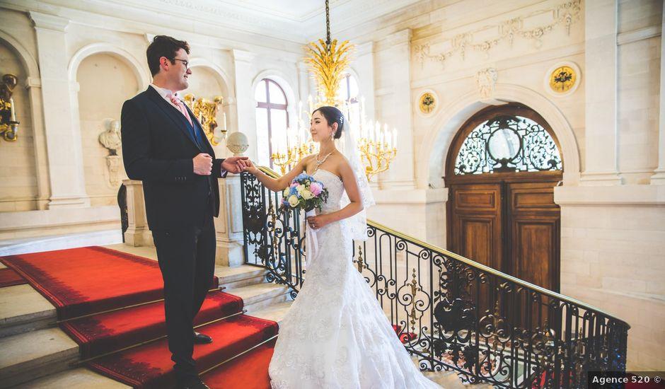Le mariage de Qiao et Michel à Ferrières-en-Brie, Seine-et-Marne