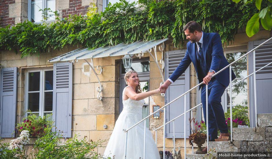 Le mariage de Julien et Florence à Compiègne, Oise
