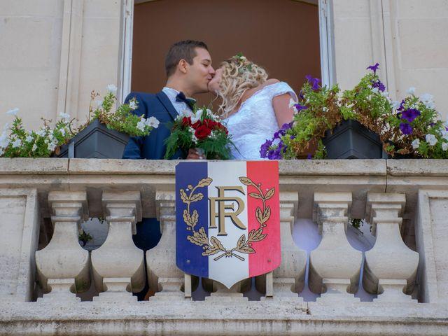 Le mariage de Marine et Valentin à Giffaumont-Champaubert, Marne 4