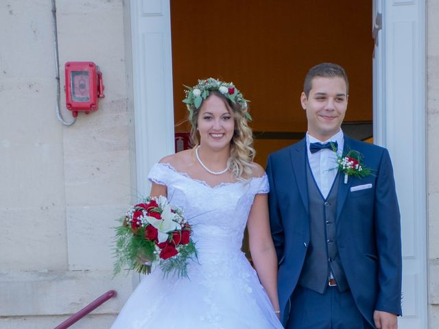 Le mariage de Marine et Valentin à Giffaumont-Champaubert, Marne 5