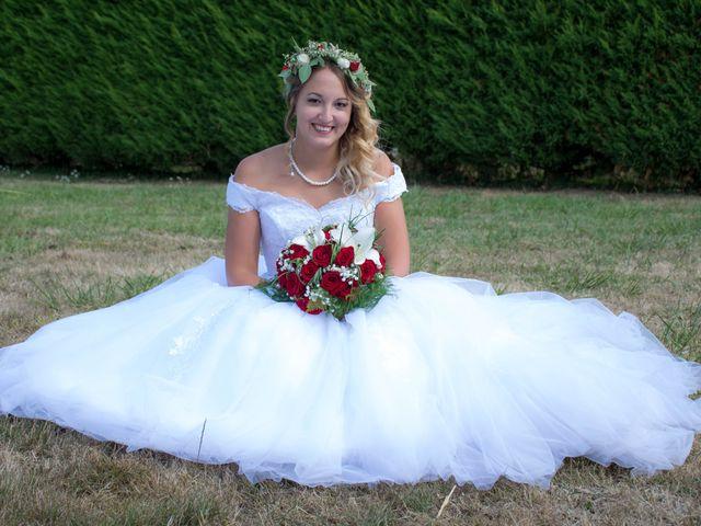 Le mariage de Marine et Valentin à Giffaumont-Champaubert, Marne 8