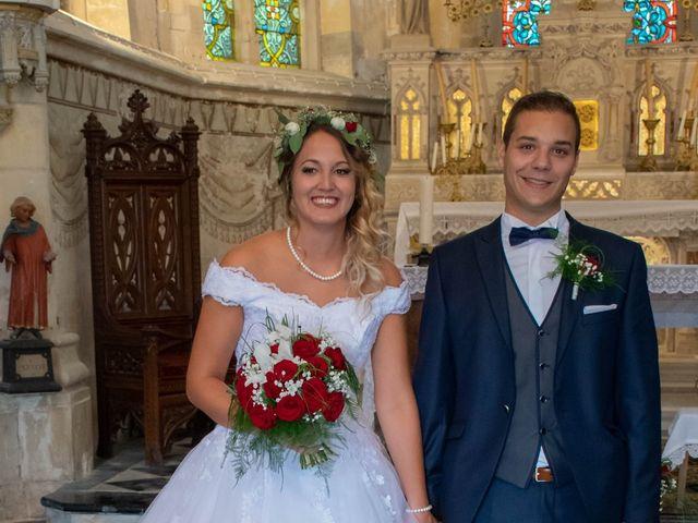 Le mariage de Marine et Valentin à Giffaumont-Champaubert, Marne 10