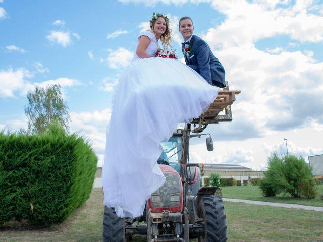 Le mariage de Marine et Valentin à Giffaumont-Champaubert, Marne 1