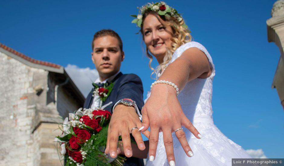 Le mariage de Marine et Valentin à Giffaumont-Champaubert, Marne
