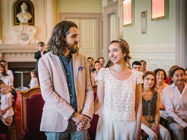 Le mariage de Nicolas et Zelie à Paris, Paris 7