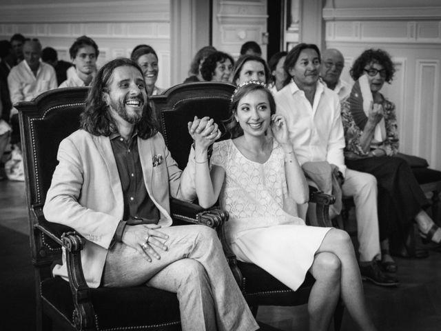 Le mariage de Nicolas et Zelie à Paris, Paris 9