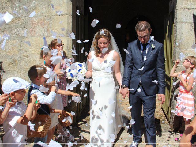 Le mariage de Mickaël et Adeline à Lagarde-Enval, Corrèze 43