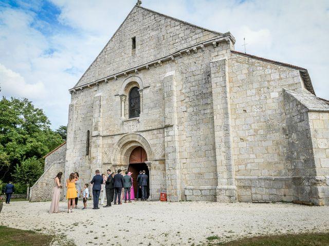Le mariage de Pierre et Ninon à Usson-du-Poitou, Vienne 41