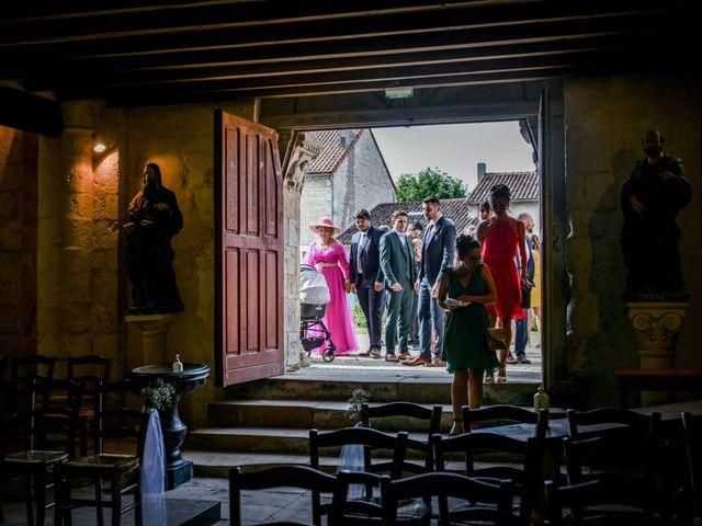 Le mariage de Pierre et Ninon à Usson-du-Poitou, Vienne 42