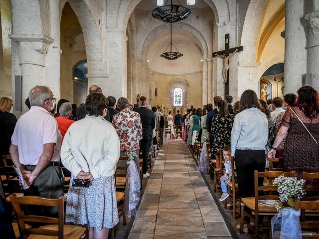 Le mariage de Pierre et Ninon à Usson-du-Poitou, Vienne 47