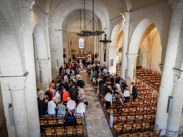 Le mariage de Pierre et Ninon à Usson-du-Poitou, Vienne 48