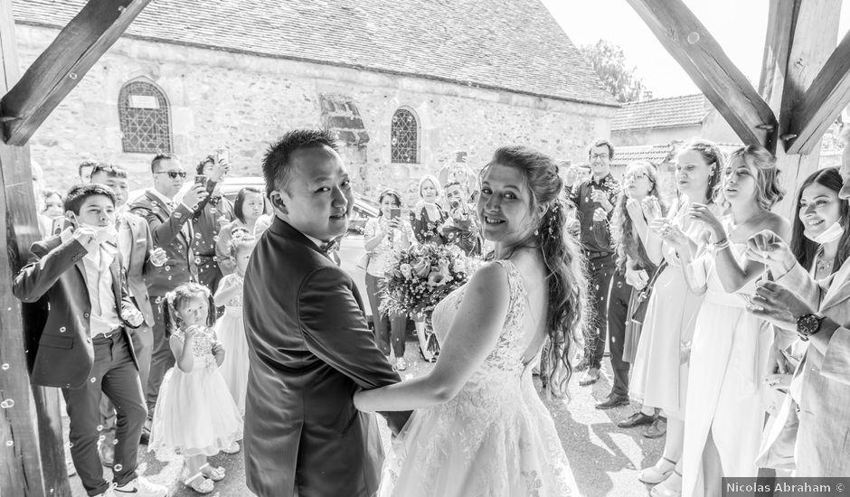 Le mariage de Tony et Alexandra à Droue-sur-Drouette, Eure-et-Loir