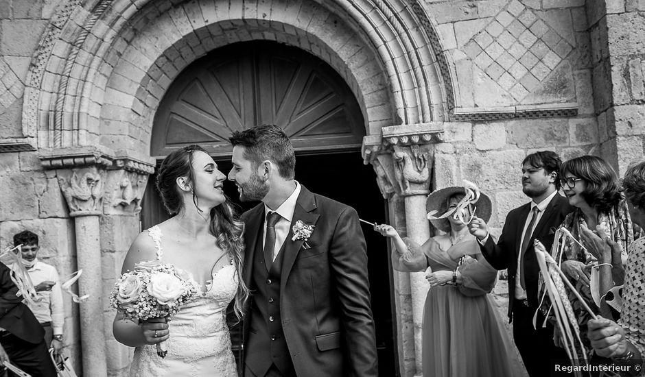 Le mariage de Pierre et Ninon à Usson-du-Poitou, Vienne