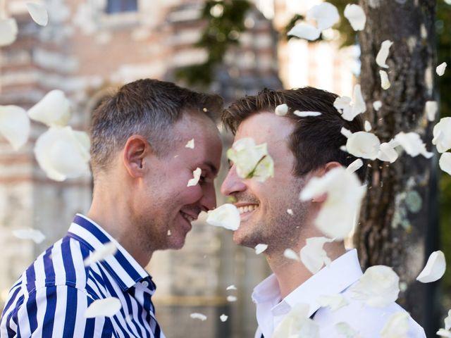Le mariage de Paul et Matthieu à Ambres, Tarn 23