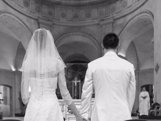 Le mariage de Julien et Magali à Versailles, Yvelines 1