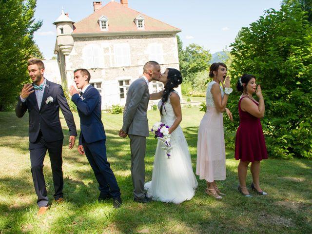 Le mariage de Ewen et Emilie à Paladru, Isère 11