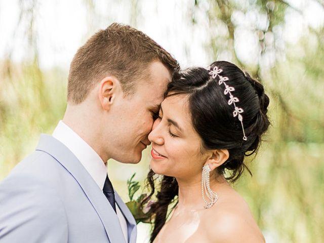 Le mariage de Maxime et Viviana à Thourie, Ille et Vilaine 1