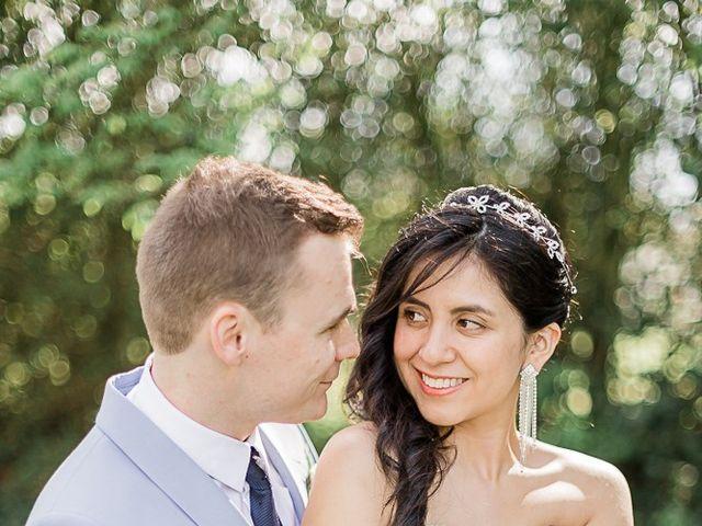 Le mariage de Maxime et Viviana à Thourie, Ille et Vilaine 43