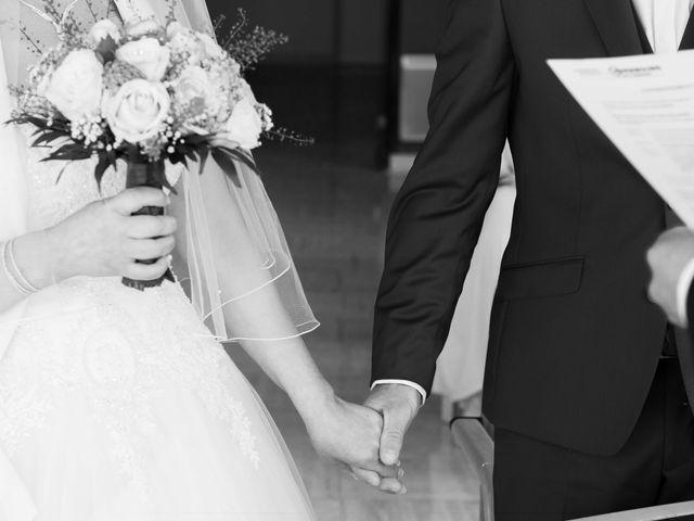 Le mariage de David et Martine à Octeville, Manche 3