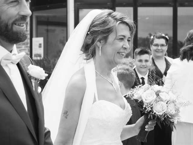 Le mariage de David et Martine à Octeville, Manche 8