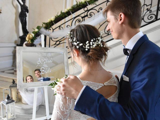 Le mariage de Ben et Sophie à Santeny, Val-de-Marne 1