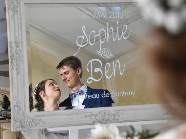 Le mariage de Ben et Sophie à Santeny, Val-de-Marne 4