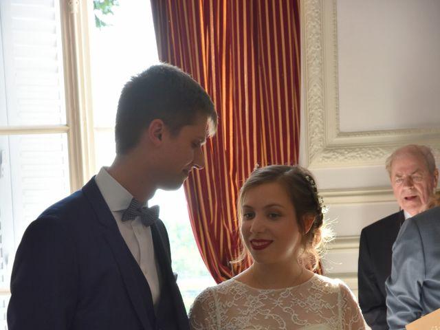 Le mariage de Ben et Sophie à Santeny, Val-de-Marne 12