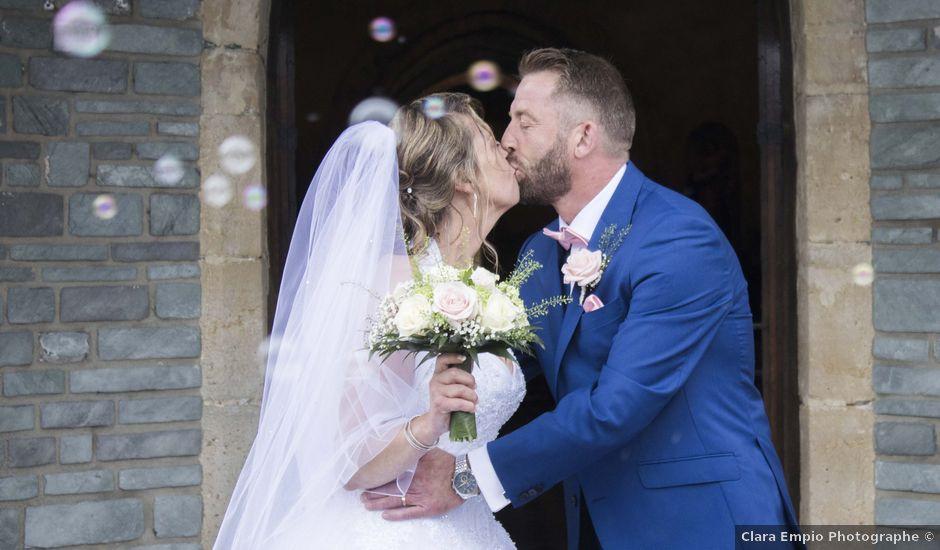 Le mariage de David et Martine à Octeville, Manche