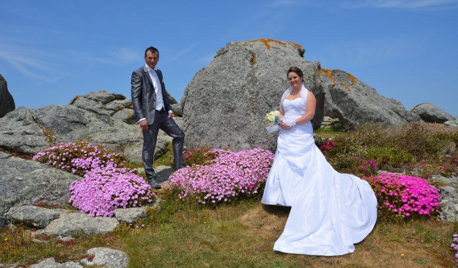Le mariage de Pauline et Anthony à Plouguerneau, Finistère