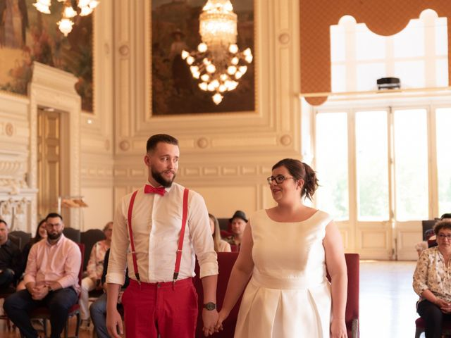 Le mariage de Thomas et Constance à Autrèche, Indre-et-Loire 6