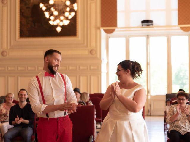 Le mariage de Thomas et Constance à Autrèche, Indre-et-Loire 7