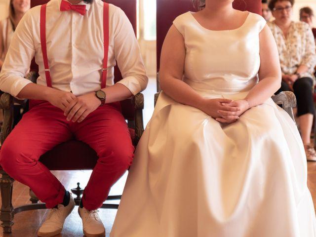 Le mariage de Thomas et Constance à Autrèche, Indre-et-Loire 8