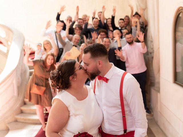 Le mariage de Thomas et Constance à Autrèche, Indre-et-Loire 9