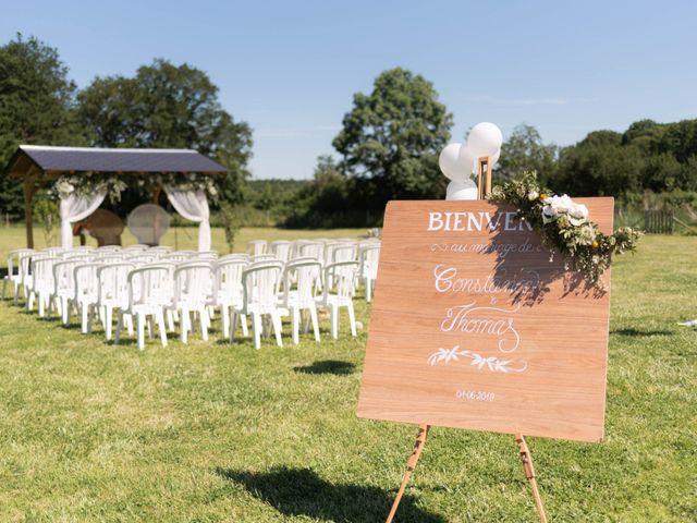 Le mariage de Thomas et Constance à Autrèche, Indre-et-Loire 41