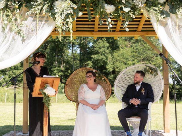 Le mariage de Thomas et Constance à Autrèche, Indre-et-Loire 49