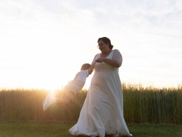 Le mariage de Thomas et Constance à Autrèche, Indre-et-Loire 84