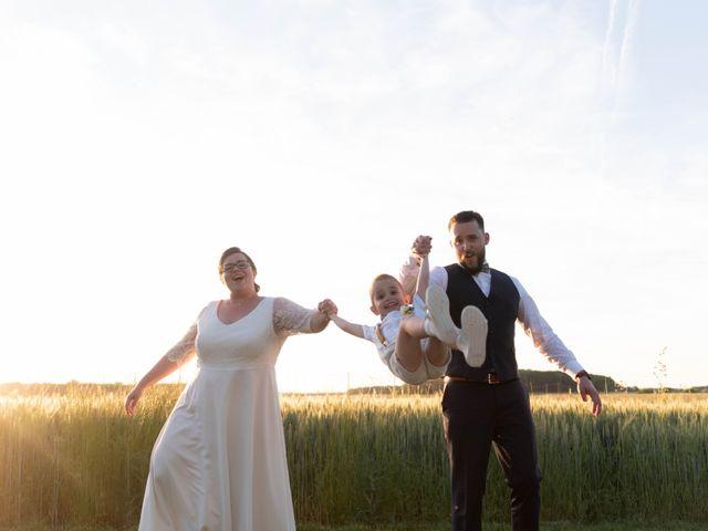 Le mariage de Thomas et Constance à Autrèche, Indre-et-Loire 86