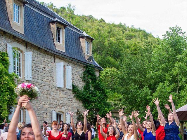 Le mariage de Guillaume et Emilie à Marcillac-Vallon, Aveyron 46